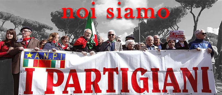 striscione I Partigiani