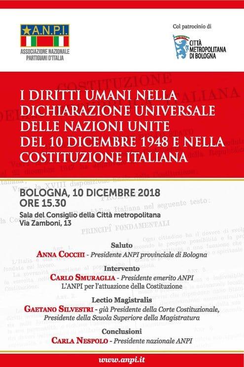 I diritti umani nella Dichiarazione Universale delle Nazioni Unite del 10 dicembre 1948 e nella Costituzione italiana