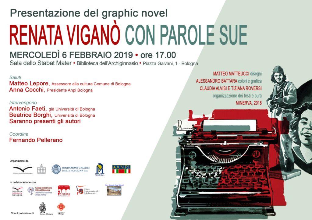 Presentazione del Graphic Novel - Renata Viganò Con Parole Sue