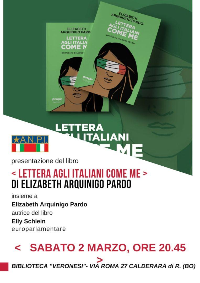 Lettera agli italiani come me [presentazione del libro]