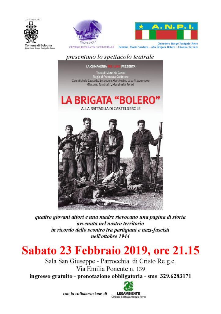 La Brigata Bolero - Alla battaglia di Casteldebole
