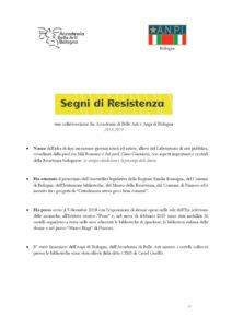 thumbnail of Opuscolo Segni di Resistenza