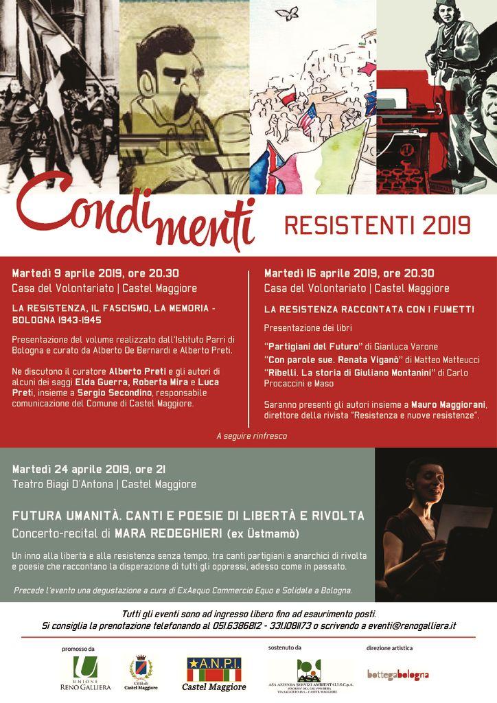 Condimenti Resistenti - La Resistenza raccontata con i fumetti