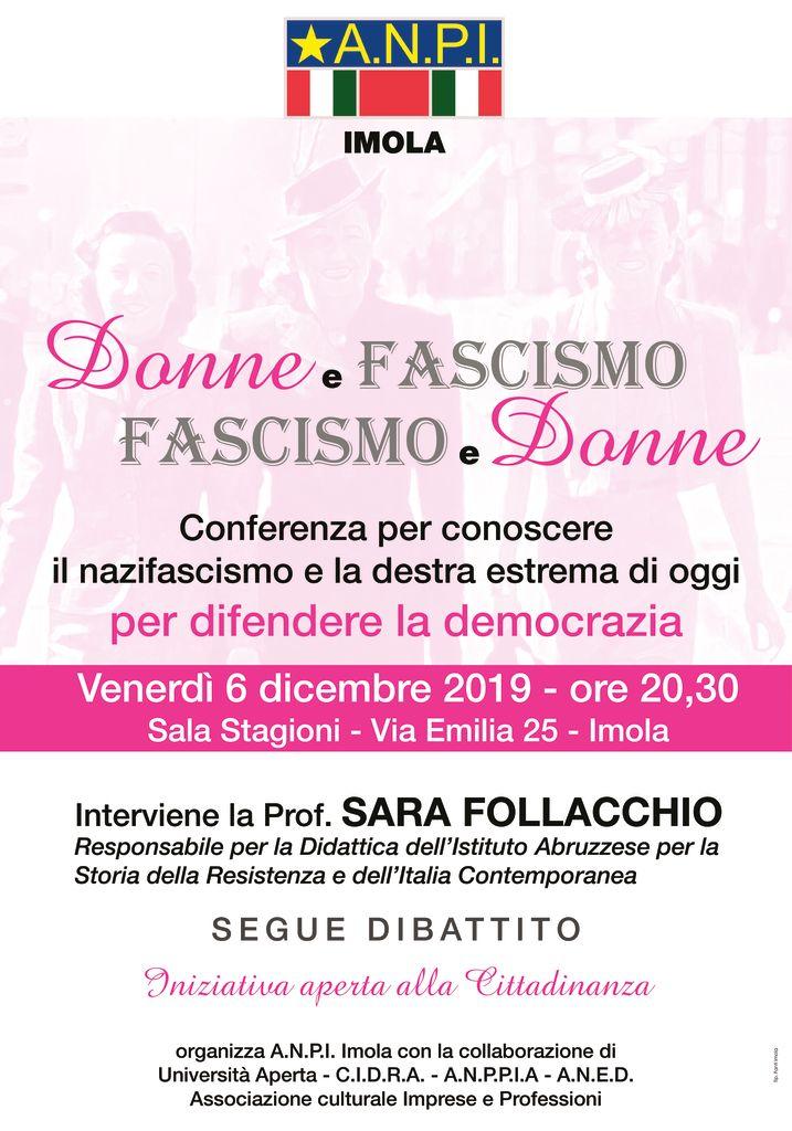 thumbnail of ANPI poster donne e fascismo