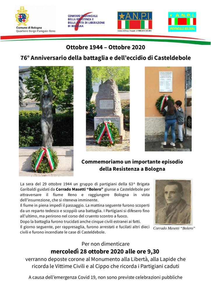 thumbnail of Volantino Casteldebole 2020