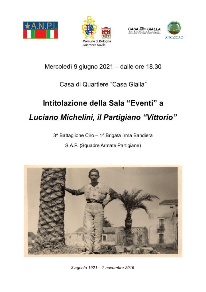 thumbnail of Intitolazione sala Luciano Michelini – 09.06.2021